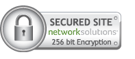 Secure Site - networksolutions 256 bit encryption